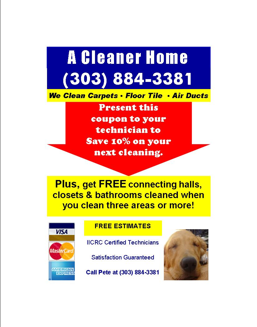 Carpet Cleaning Castle Pines Village Steam Cleaner